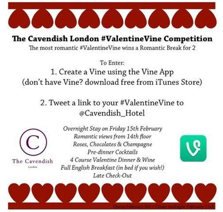 cavendish hotel valentines day