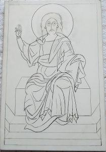 Icon Drawing of God the Father  Paperblog
