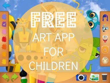 FREE Art App for Children!