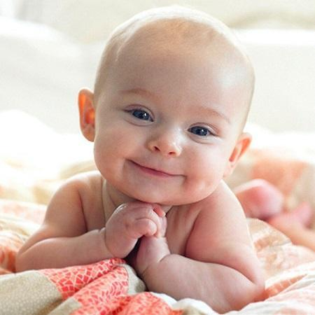 Grace is the face of Gerber Be Our Baby Photo Search 2014