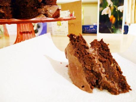 Cocoa Carrot Cake [Low Fat]