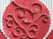 Valentine's Quilled Card Tutorial