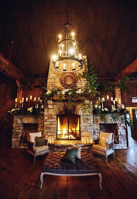 17Formal-Glamorous-Barn-Wedding-Old-Edwards-Inn-NC-Paul-Johnson-Photography-fireplace