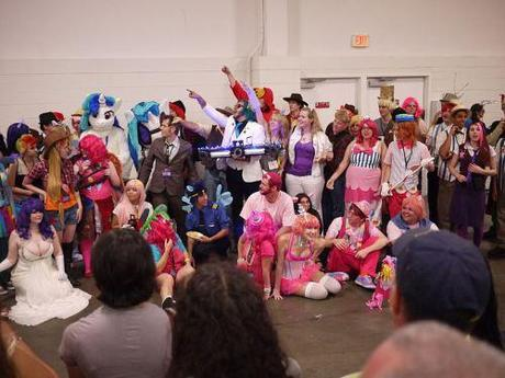A brony convention, whatever the Hell that is.