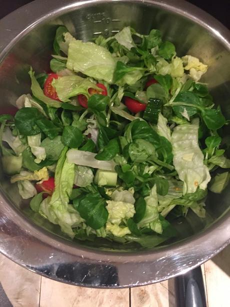 Smoked Chicken & Orange Salad