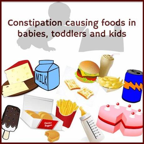What Foods Cause Constipation In Babies