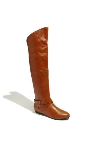 Chinese Laundry - 'Nostalgia' Over the Knee Boot Womens Cognac 6.5 M