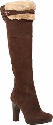 Ugg - Ophira Suede Over-The-Knee Boots - Java