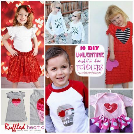 10 DIY Valentine Outfit for My Toddler