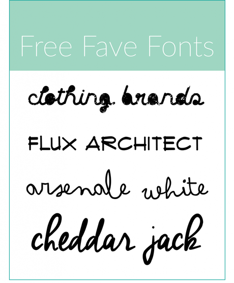 Free-Fave-Fonts