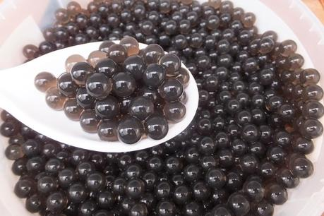 tapioca balls for bubble tea