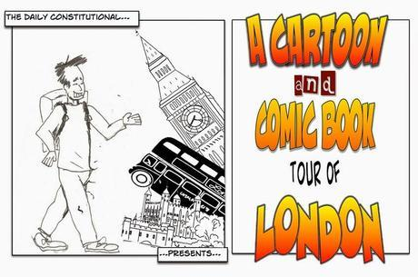 A Cartoon & Comic Book Tour of #London No.13: Marvel & Tower Bridge