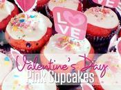 Valentine's Pink Cupcakes Recipe