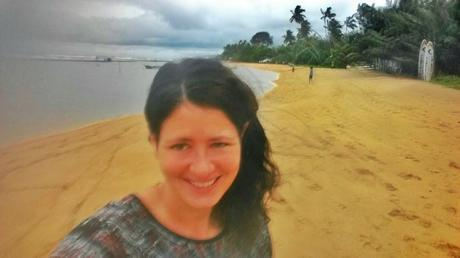 Capturing one of my twice daily walks along the beach in Beruwala.  I treasured this time so much and would do walking meditations, focusing on my breathing.