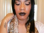 Makeup Look Black Lipstick