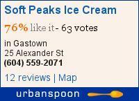 Soft Peaks Ice Cream on Urbanspoon
