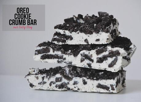 Recipe | Oreo Cookie Crumb Bar