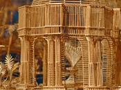 Man, Toothpicks Years: Amazing Sculpture Francisco