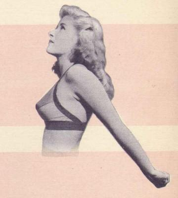 1940s Beauty Guide – Exercises for the Bust