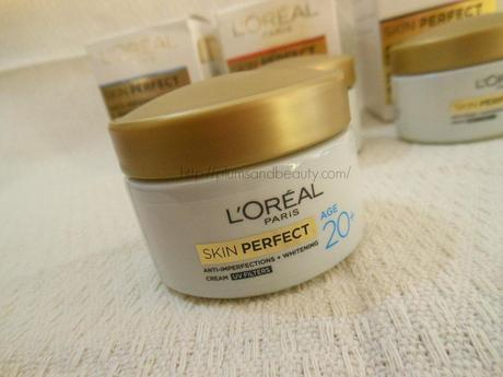 L'Oreal Paris Skin Perfect Anti-Imperfections + Whitening Cream (with UV Filters) for Age 20+ : Review, Price