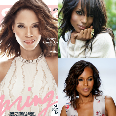 Kerry Washington Skin Lightened for In Style Magazine Cover?