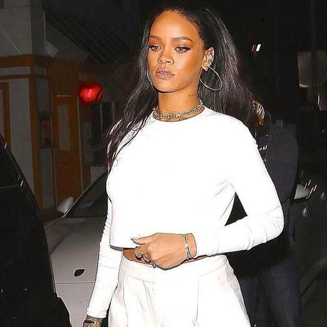 RIHANNA REHEARSING FOR GRAMMY AWARDS | SPOTTED LEAVING GIORGIO BALDI AFTER DINNER