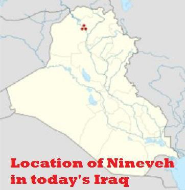 Nineveh in today's Iraq