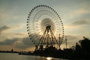 Giant Ferris wheel in Suzhou SIP