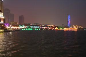 Suzhou Industrial park at night