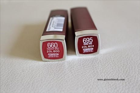 755cc6674ff Maybelline Color Sensational Creamy Matte Lipsticks-Review,Swatches ...
