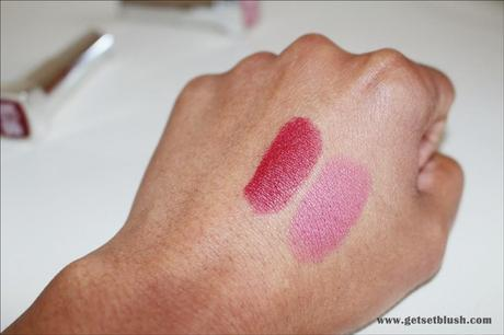 Maybelline Color Sensational Creamy Matte Lipsticks-Review,Swatches