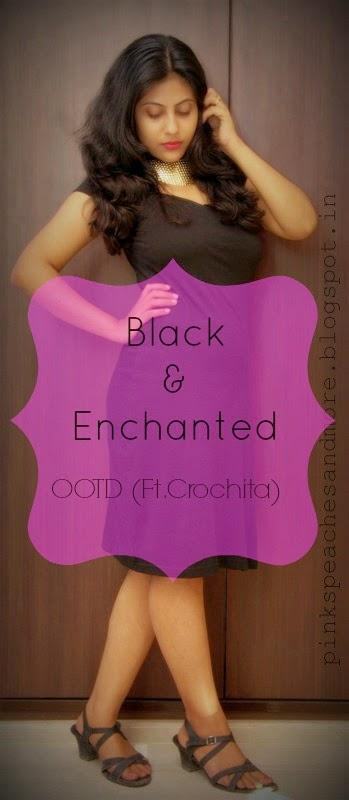My First OOTD Post| Black & Enchanted (Ft. Crochita)
