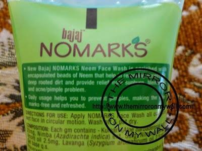 Bajaj No Marks Neem Face Wash Review