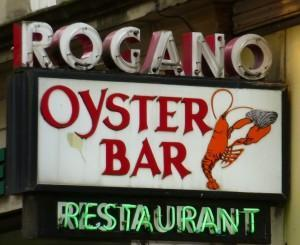 Rogano Glasgow,oyster bar fish valentine