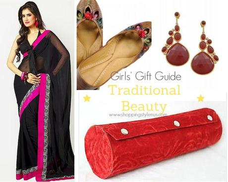 Shopping, Style and Us - 2015 Gift Guide For Indian Girls - For Traditional Beauties