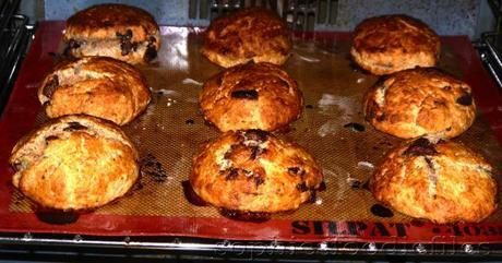 Fresh from the oven,..