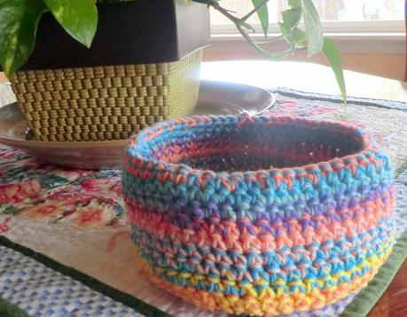 Yarn Bowls in Crochet