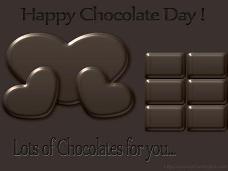 Happy Chocolate Day Wallpapers, heart chocolate day pictures, heart shaped chocolate day pictures, chocolate day 9 feb 2015 wallpapers