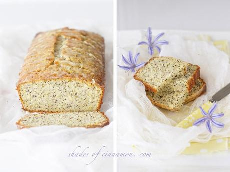 Lemon and Poppyseed Drizzle Cake