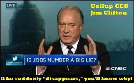 Gallup CEO Jim Clifton
