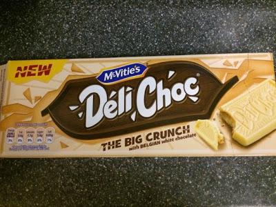 Today's Review: McVitie's Deli Choc White Chocolate