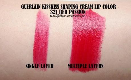 Guerlain KissKiss Shaping Cream Lip Color (3)