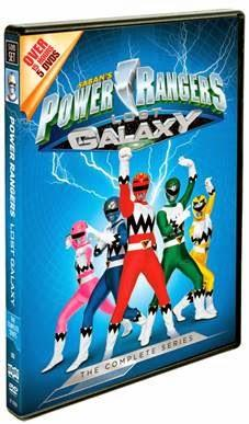 Power Rangers Lost Galaxy: The Complete Series ~ 5-DVD Box Set Arrives on March 10th! (Giveaway; 2 Winners)