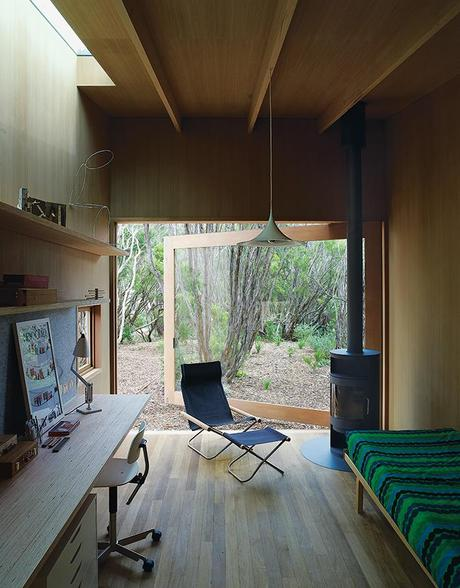 Local Wood Clads Every Surface of This Idyllic Australian Getaway