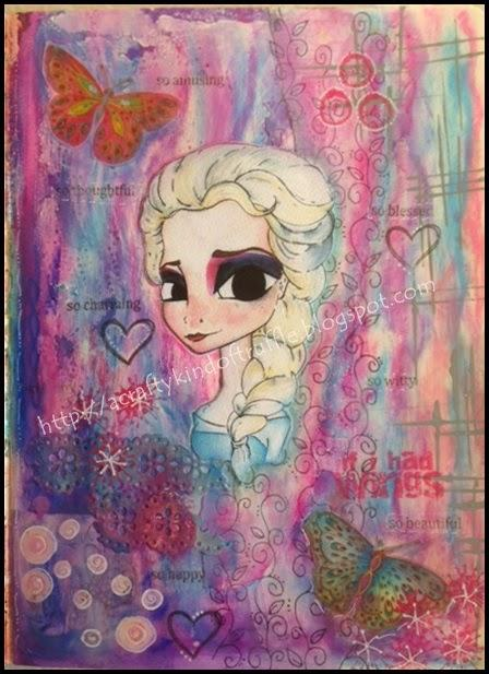 A Frozen Journal Page