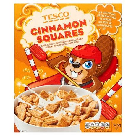 Today's Review: Tesco Cinnamon Squares