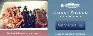 Coast and Glen fish box Scottish seafood