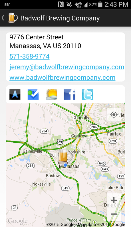 The Next Step in the #VABreweryChallenge: Manassas with Badwolf Brewing Company and Heritage Brewing
