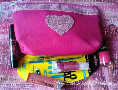 Maybelline's Insta Glam Valentine's Gift Kit Review & My Make up Look!