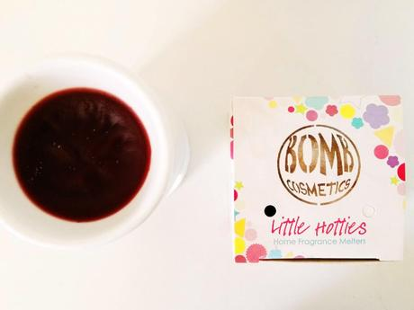 Bomb Cosmetics' Little Hotties Scented Melters | On Vday Melt Hearts At Home